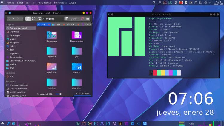 KDE Sweet