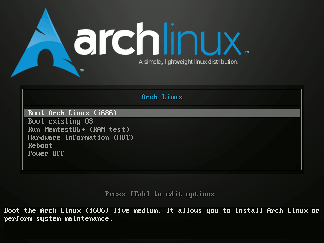 Grub Arch Linux