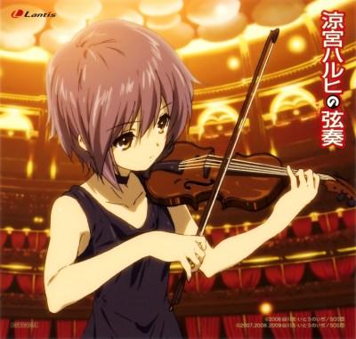 Haruhi Gensou CD Cover