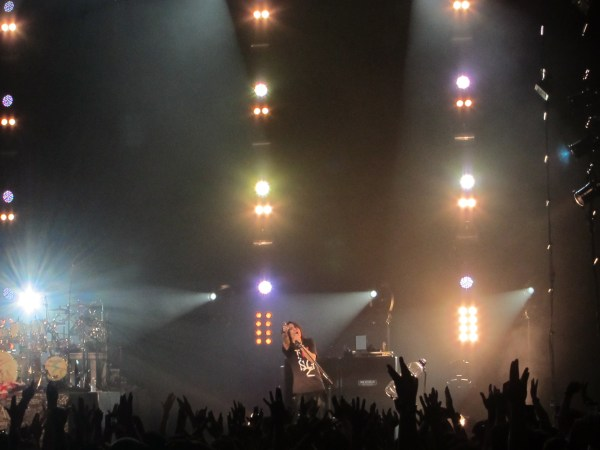 Sugizo promises to come back.