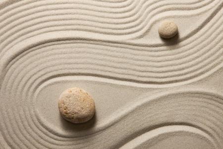 Zen Garten, Weisheit, Achtsamkeit