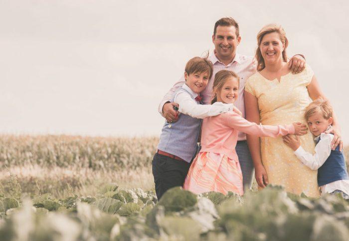 Deze familie maakt werk  van prinsheerlijke herinneringen. Een keizerlijke gezinsreportage!