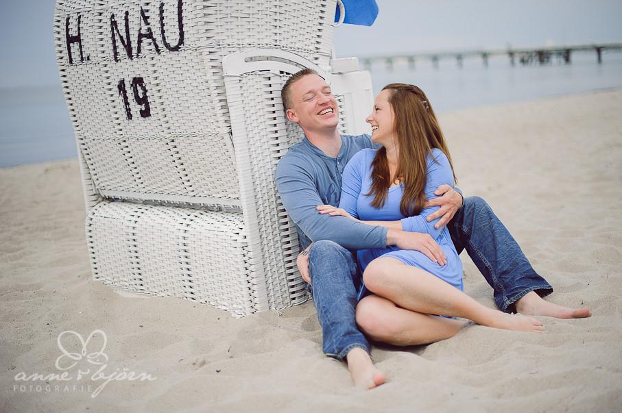 Paarshooting an der Ostsee  Olivia und Steffen