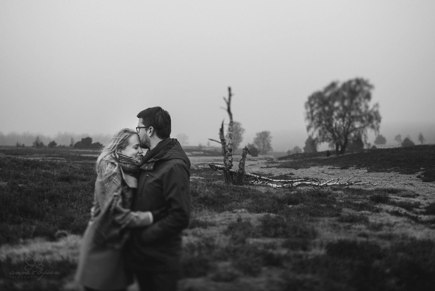 Verlobungsshooting in der Lneburger Heide  Sabrina