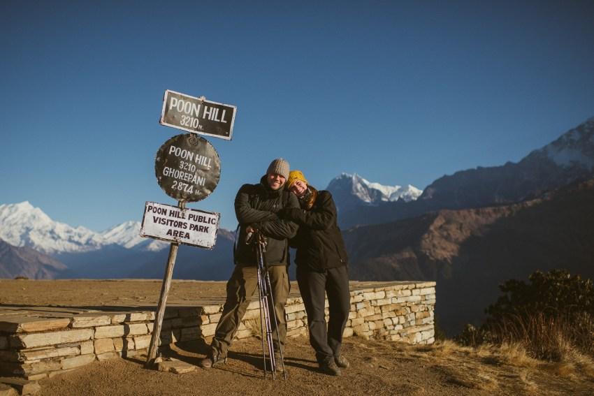 0054 anne und bjoern poon hill nepal 811 1192 2 - Nepal Teil 2 - Trekking zum Poon Hill