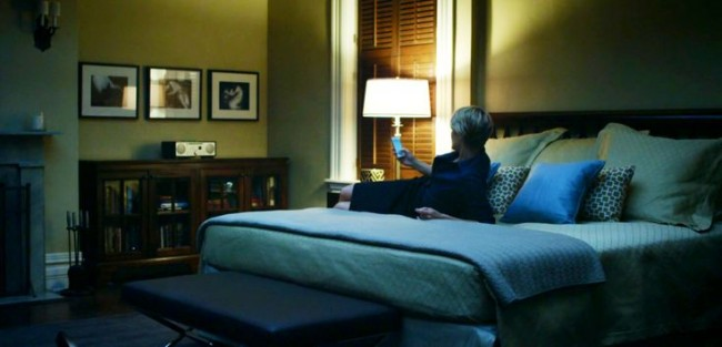 Steal This Look Frank  Claires Bedroom from House of Cards