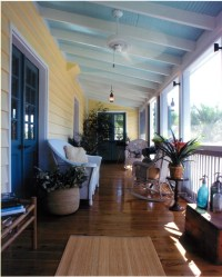 Haint That Something? The Blue Porch Ceilings of the South
