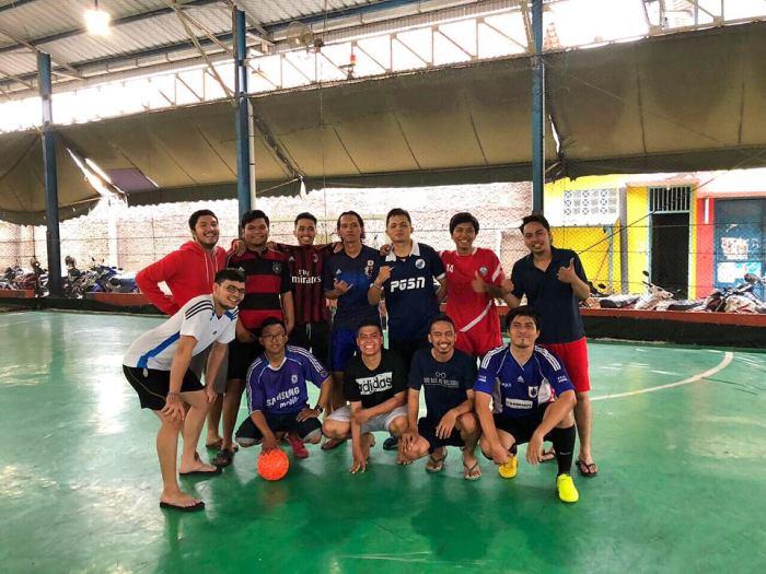 Foto Bareng Nih di Acara Reuni Futsal Alumni Santa Lusia Bekasi 2018