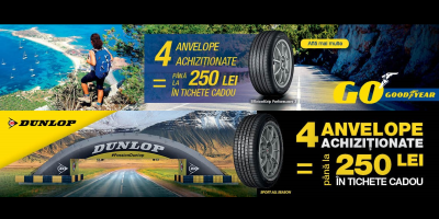 Promotie anvelope vara/all season Goodyear-Dunlop