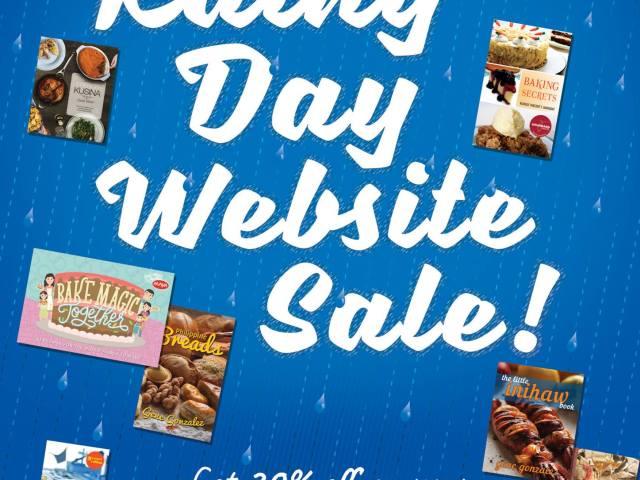 BOOK SALE: Anvil Rainy Day Website Sale