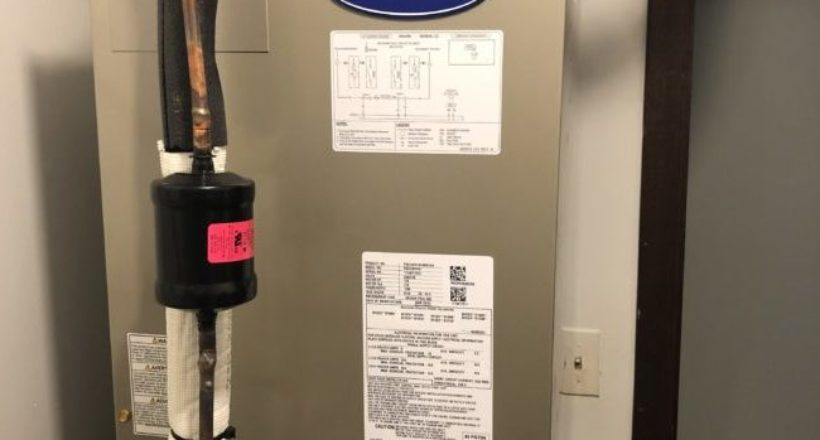 Installing New Carrier Air Handler in Niles IL - May 19th 2019