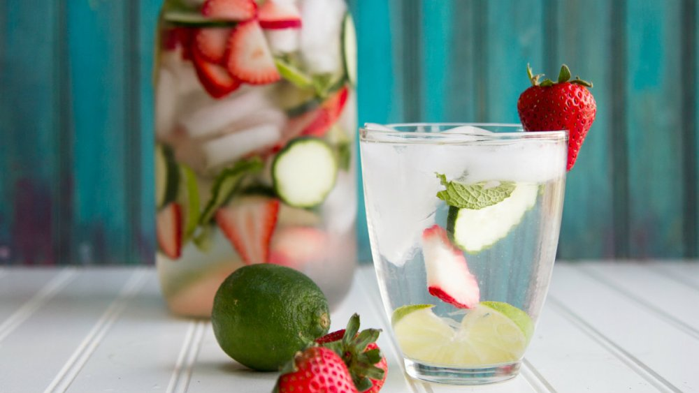 Flavored Fruit Water