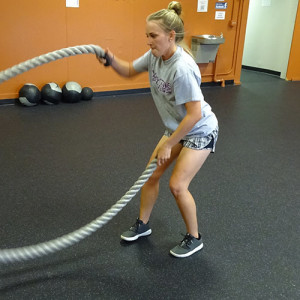 alternating waves battle ropes