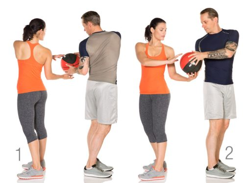 Image result for Torso Twist with Ball""