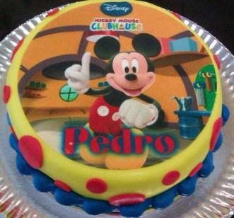 Tarta acabado Fondant de Mickey
