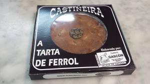 Tarta de Ferrol de Castañas