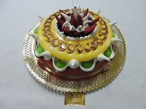 Tarta Charlote de Yema