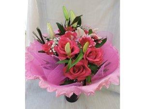 Ramo de Flores tonos Fucsia