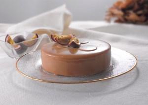Tarta Chocolate, Mango y Fruta de la Pasión