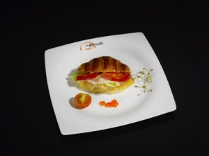 Croissant Relleno Vegetal