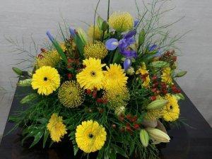 Ramo de Flores con tonos amarillos
