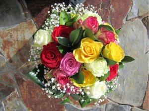 Ramo de Rosas Multicolor