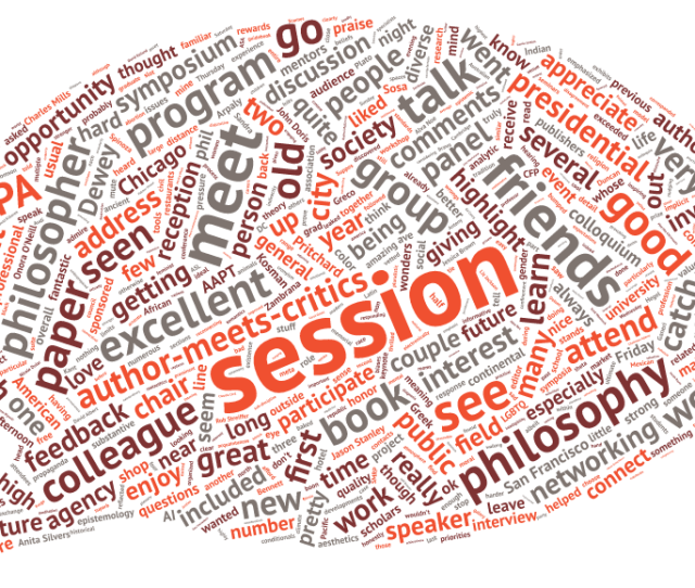 Word Cloud Generated From Meeting Attendees Responses Across Surveys On All Three 2016 Apa Meetings