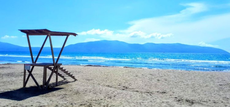 Vlora - view of the beach