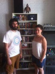 David Pérez y Maria Castells.