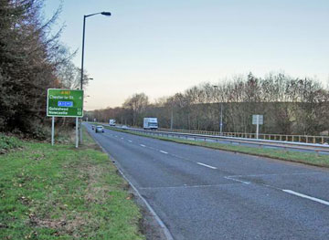 A167 to Newcastle