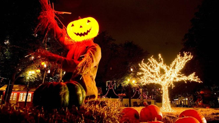 A great Halloween secret - Tivoli Gardens in Copenhagen