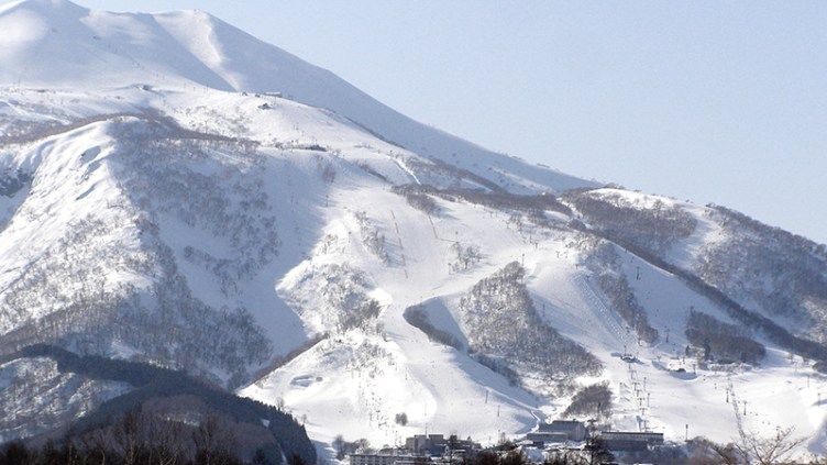 "Niseko, Japan: <a href=""http://en.wikipedia.org/wiki/Niseko_Mt._Resort_Grand_Hirafu#mediaviewer/File:Niseko_Mt.Resort_Grand_Hirafu.JPG"" target=""_blank"">image credit</a>"
