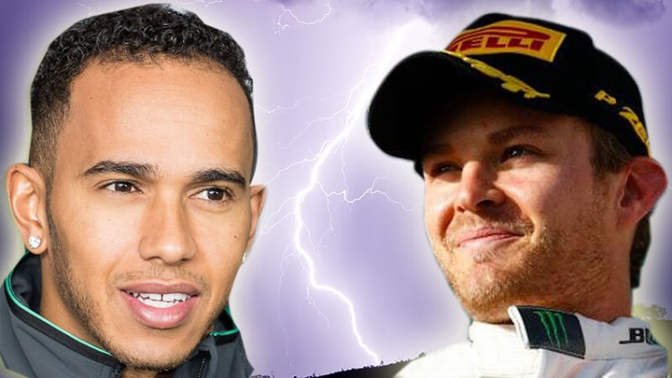"""Expect fireworks between <a href=""""http://en.wikipedia.org/wiki/Lewis_Hamilton#/media/File:Lewis_Hamilton_October_2014.jpg"""" target=""""_blank"""">Lewis</a> and <a href=""""http://en.wikipedia.org/wiki/Nico_Rosberg#/media/File:Segundo_Lugar.jpg"""" target=""""_blank"""">Nico</a>"""