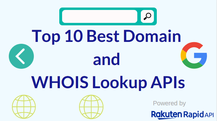 The Top 10 Best Domain and WHOIS Lookup APIs