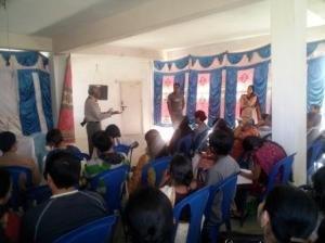 Oota from Thota by ApnaComplex - Session in progress