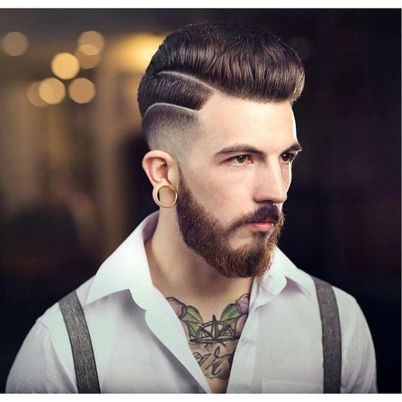 cabelo degrade line up