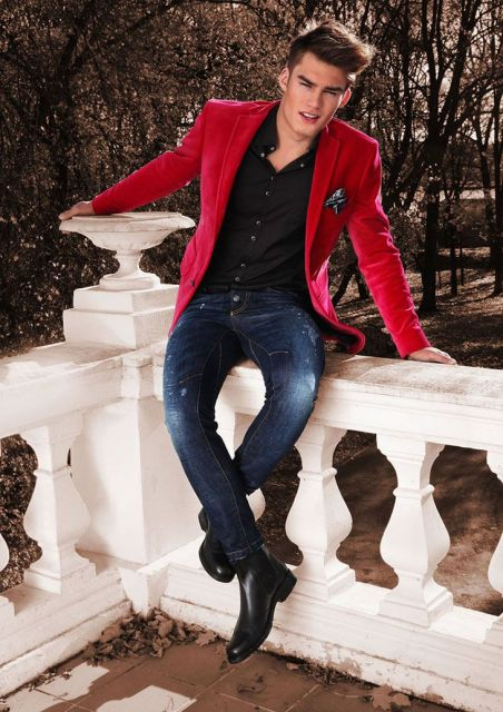blazer-vermelho-masculino