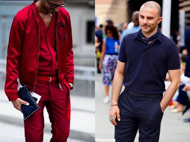 roupa masculina monocromatica