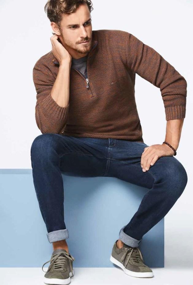 tricot masculino Aramis