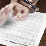 Employees Signing Non-Compete Agreements.