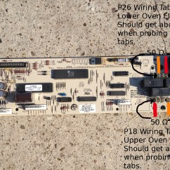 Oven Heating Element Wiring Diagram Simple Am Receiver Circuit Whirlpool Double Gold Gbd Rbd Series Not