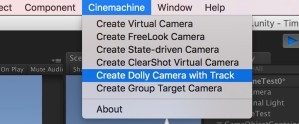 Create Dolly Camera with Track