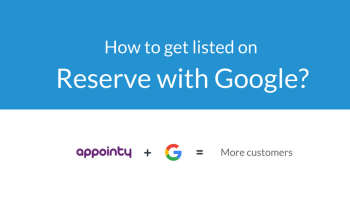 get listed on reserve with google