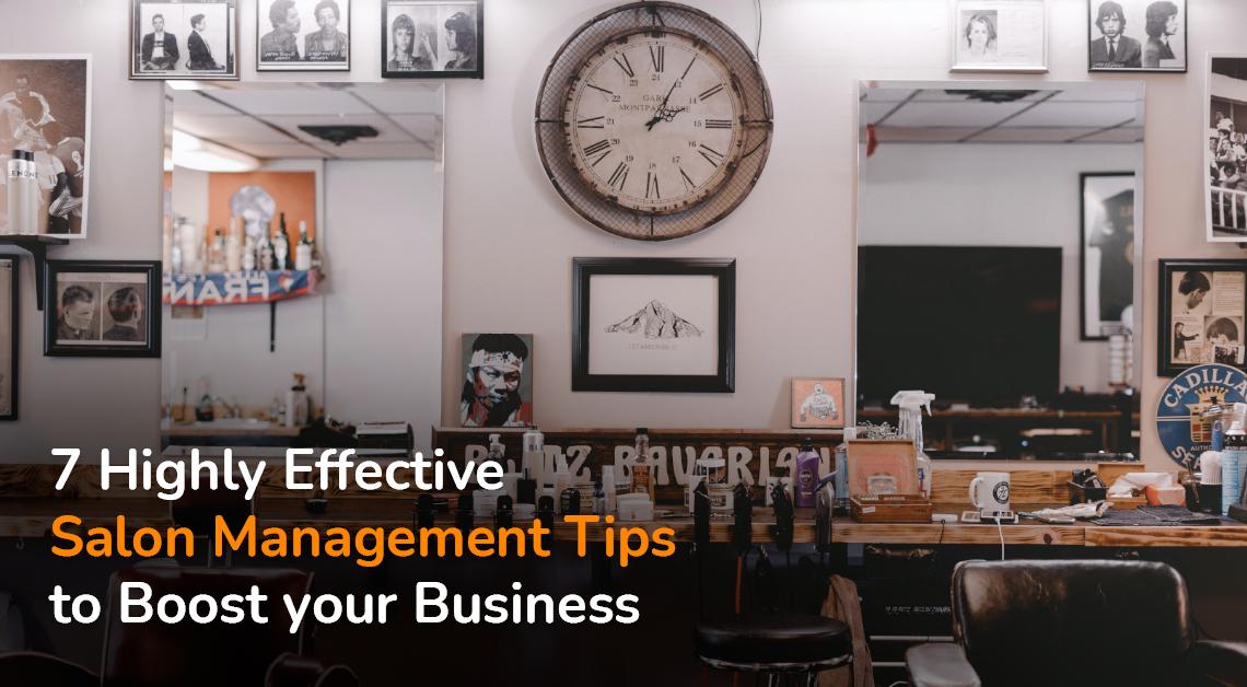 Salon management tips