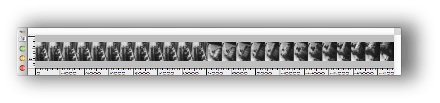 the finished filmstrip