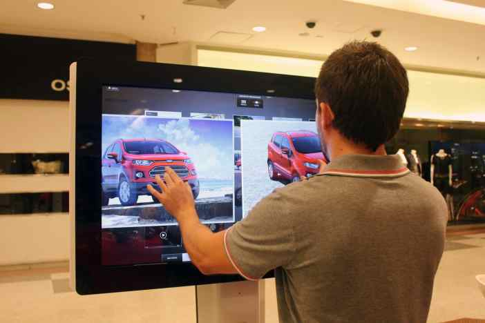 Marketing para Ford em shopping