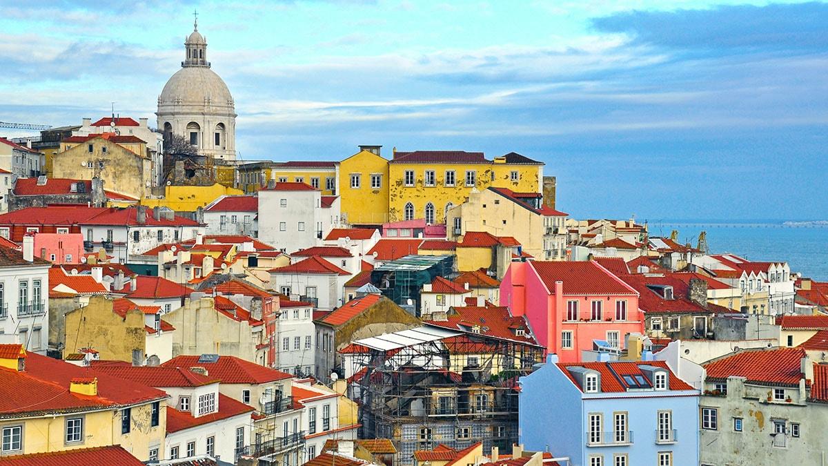De alicante a Lisboa.. en vuelo directo