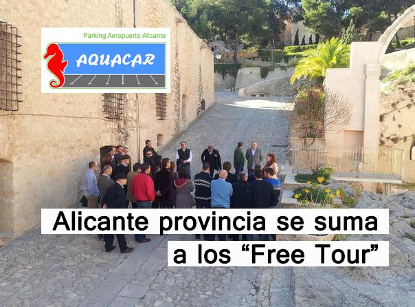 Rutas turísticas hechas a pie en Alicante provincia