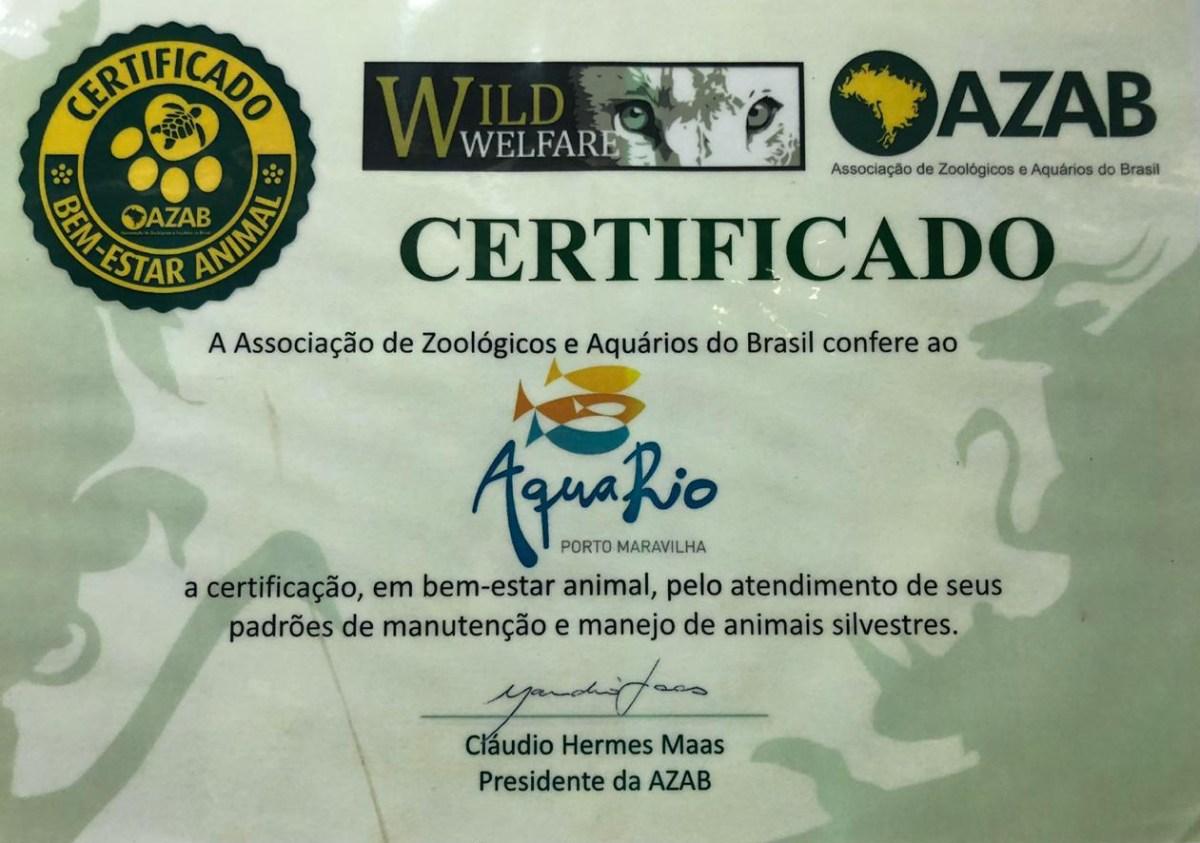 certificado_bemestar_aquario