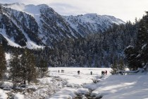 Descubre Baqueira con raquetas de nieve